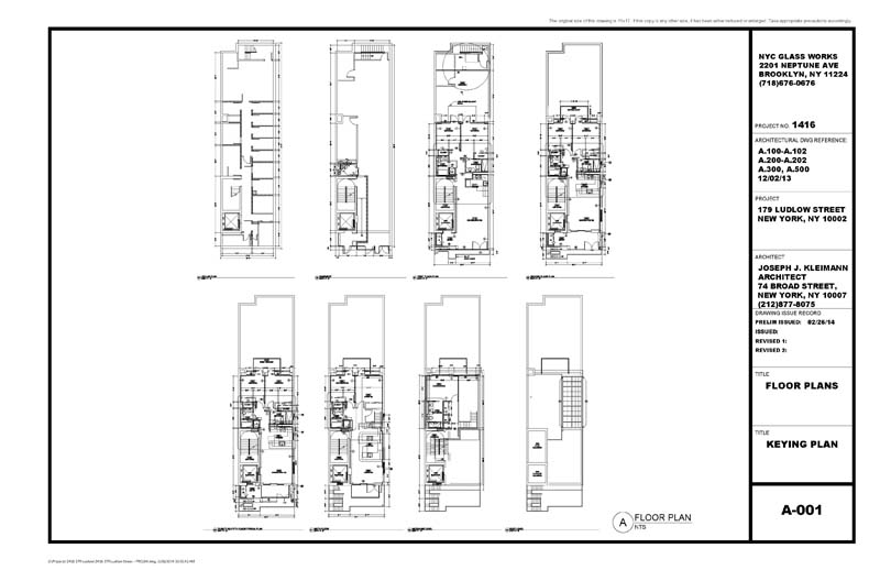 Architectural Metal Amp Glass Shop Drawings