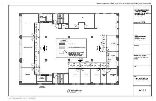 appartment design drawing