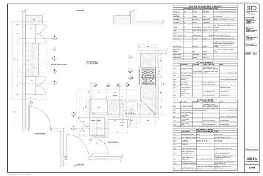 New york Millwork shop drawings