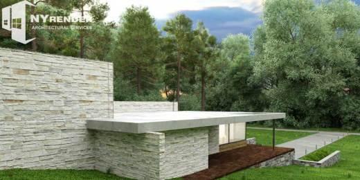 3d architect rendering