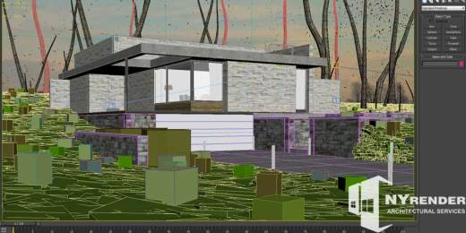 3d architectural rendering 3ds max