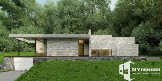 Rendering for architect