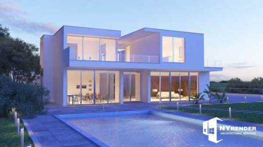 exterior rendering 3ds max vray
