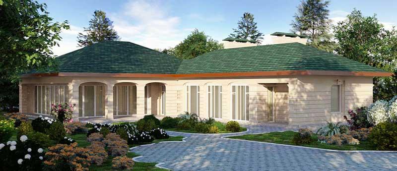 Real Estate Properties Rendering