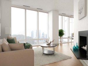 modern 3d rendering style